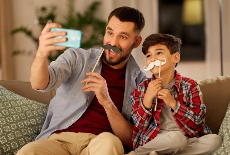 parent enfant Smartphone